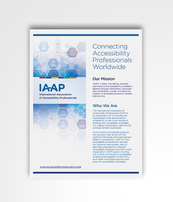Iaap Brochure Pdf Design Positive