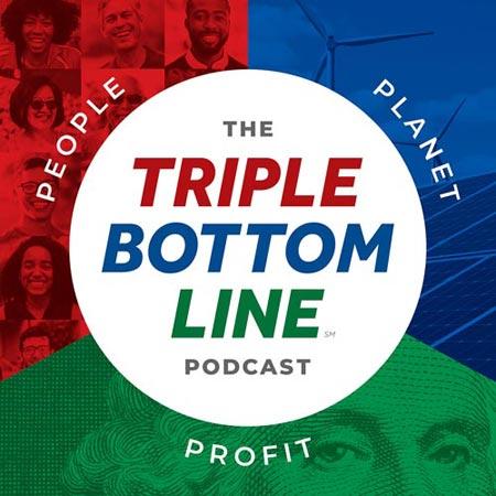 Triple Bottom Line Podcast logo
